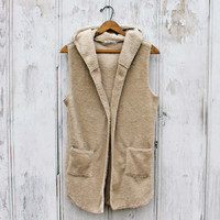 Stormy Weather Shaggy Vest