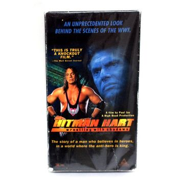 WRESTLING WITH SHADOWS VHS TAPE