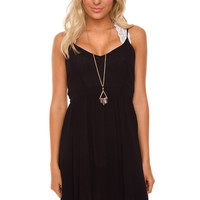Annalise Lace Dress - Black