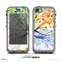 The WaterColor Vivid Tree Skin for the iPhone 5c nüüd LifeProof Case