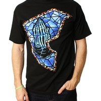 Famous Stars And Straps Men's Stained BOH Graphic T-Shirt