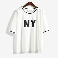 Black and White New York Shirt