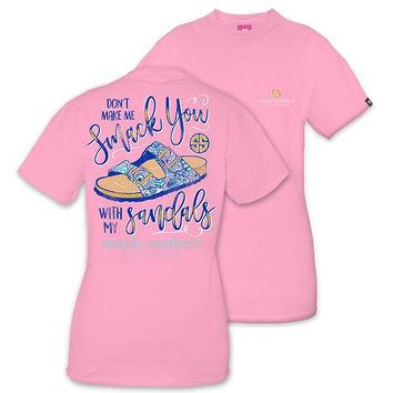 "Simply Southern ""Don't Make Me Smack You"" Tee"