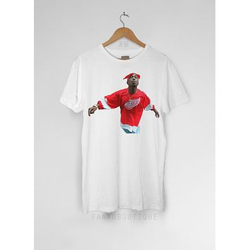 2pac Thug Life Tupac Red Wings Unisex T Shirt