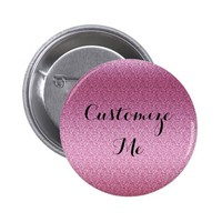 Pink Glittery Gradient Button