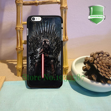 Game of Thrones star wars original black cell phone cases for iphone 6 6 plus 6s 6splus 5 5s 5c 4 4s Y-0219