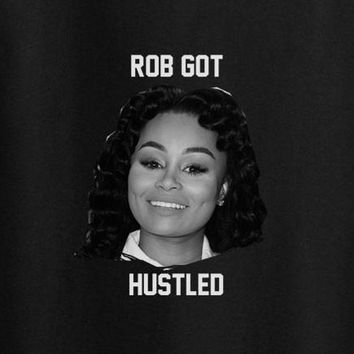 Blac Chyna and Rob kardashian been hustled tee t-shirt shirt Snoopy Dogg Sucker