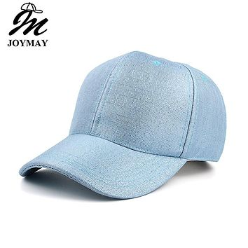 Joymay 2017 Spring New Women Lace Fabric Baseball cap Adjustable Fashion Leisure Casual Snapback HAT B415