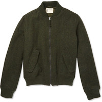 Aspesi - Harris Tweed Bomber Jacket | MR PORTER