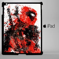 Deadpool Painting A0252 iPad 2, iPad 3, iPad 4, iPad Mini and iPad Air Cases