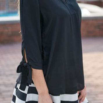 Devotion To Fab Blouse, Black