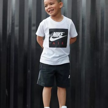NIKE Children Boy Girl Casual Shirt Top Tee