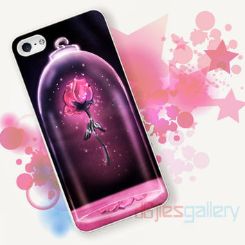 Rose Beauty and The Beast for iPhone 4/4S, iPhone 5/5S, iPhone 5C, iPhone 6 Case - Samsung S3, Samsung S4, Samsung S5 Case