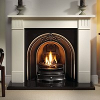 Gas Fires For Victorian Fireplaces With Elegant Mantel For Victorian Livingroom Style Ideas. Living Room, Decorations & Accessories, Interior: Modern Fireplaces Design Ideas For Inspiring Home Decoration. modern fireplace design ideas, brick fireplace desi