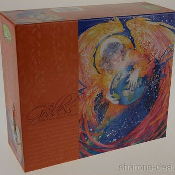 Call of the Goddess Jigsaw Puzzle Protecting Feminine 550 Pc 24x18 USA Ceaco NIB