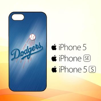 Dodgers baseball G0119  iPhone 5|5S|SE Case