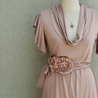 Spring Dress With Secret Garden Belt Bundle Listing by Lirola