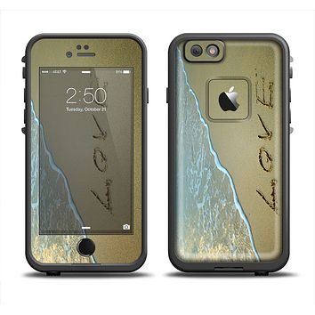 The Love beach Sand Apple iPhone 6 LifeProof Fre Case Skin Set
