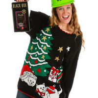 Purrrfect for Christmas Ugly Sweater
