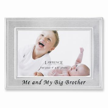 Big Brother 6x4 Photo Frame - Engravable Personalized Gift Item
