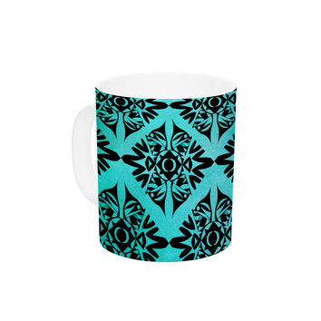 "Pom Graphic Design ""Eye Symmetry Pattern"" Ceramic Coffee Mug"