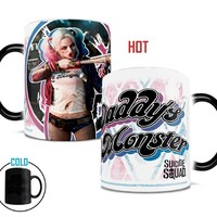 Suicide Squad Harley Quinn Daddy's Lil Monster Morphing Mugs Heat-Sensitive Mug