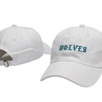 WOLVES Embroidered Baseball Cap Hat