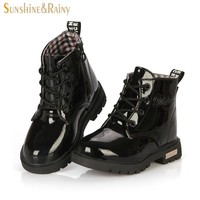 Girls' Winter Boots N PU leather PU soft breathable single