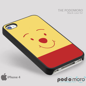 Pooh Bear Face for iPhone 4/4S, iPhone 5/5S, iPhone 5c, iPhone 6, iPhone 6 Plus, iPod 4, iPod 5, Samsung Galaxy S3, Galaxy S4, Galaxy S5, Galaxy S6, Samsung Galaxy Note 3, Galaxy Note 4, Phone Case