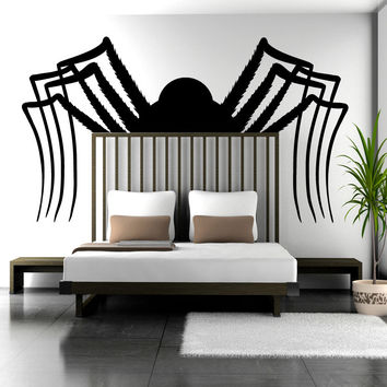 Vinyl Wall Decal Sticker Big Spider #OS_MB1165