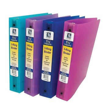 C LINE 3 RING BINDER 1.5IN CAPACITY