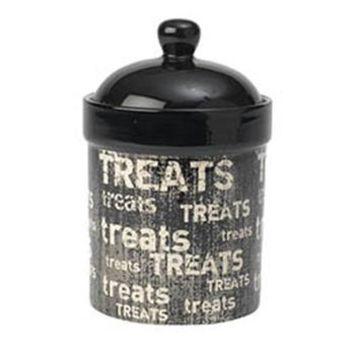 Petrageous Vintage Pet Treat Jar