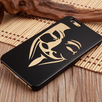 Guy Faux Ultra Thin 100% Natural Wood Phone Case For iPhone 7 7Plus 6 6s Plus 5 5s SE