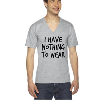 I have nothing to wear - V-Neck T-shirt