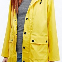 Petit Bateau Classic Raincoat in Yellow - Urban Outfitters