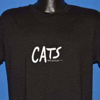 80s Cats The Musical Cat Eye t-shirt Large