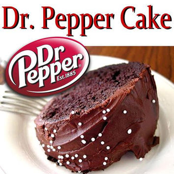 Classic Dr Pepper Cake Recipe  classic diner by TheHoppingDiner