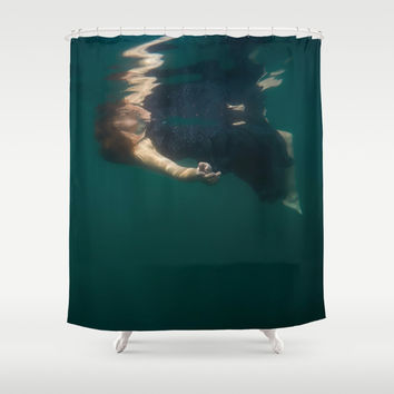 Connect Shower Curtain by Nicklas Gustafsson