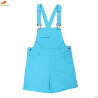 Women Jumpsuit Denim Overalls 2017 Summer Jumpsuits 4 Colors Rompers Casual Strap Elegant Pockets Shorts Jeans Overall Playsuits