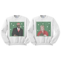 Martha Stewart and Snoop Dogg Duo Sweatshirt