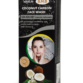B.M.B Coconut Carbon Face Wash – Pure 100% Natural Coconut Oil