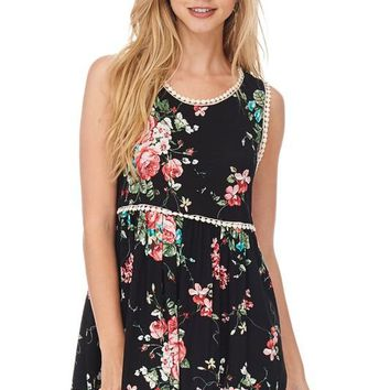 The Willow Floral Tank
