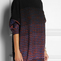 M Missoni | Oversized crochet-knit wool-blend sweater | NET-A-PORTER.COM