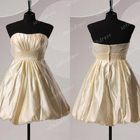 cheap bridesmaid dresses, gold bridesmaid dresses, bridesmaid dresses uk, A line bridesmaid dresses, cocktail dresses, BE0329