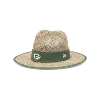 New Era Green Bay Packers Training Camp Straw Hat - Men, Size: One Size (White)