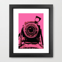 READYSET (PINK) Framed Art Print by Eric Fan | Society6