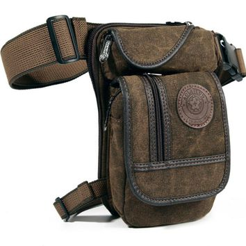 Canvas Waist Packs Tactical Military Shoulder bag