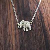 Dotted Elephant Necklace | ootdfash