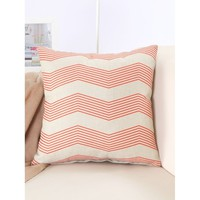 Chervon Print Pillowcase Cover 1PC