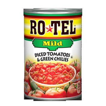 Ro*Tel Mild Diced Tomatoes & Green Chilies, 10 Oz - Walmart.com